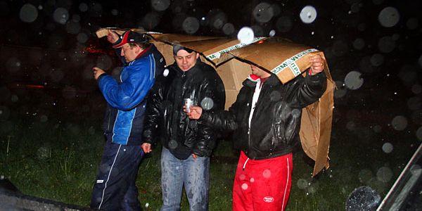 Инструкция по проведению шашлыка в условиях дождя