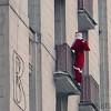 Дед Мороз в современном городе