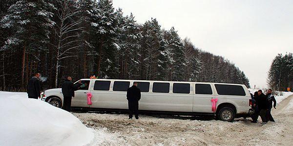 Инструкция по толканию свадебного лимузина