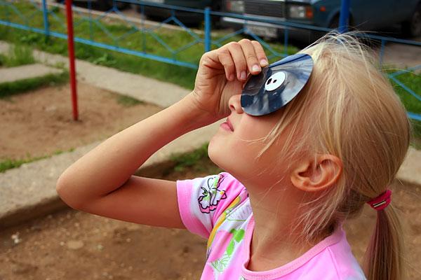 Дискеты дают отличный материал для осмотра солнечных затмений