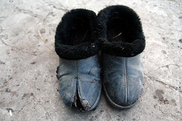 Русские Ninja shoes (ниндзя шуз)